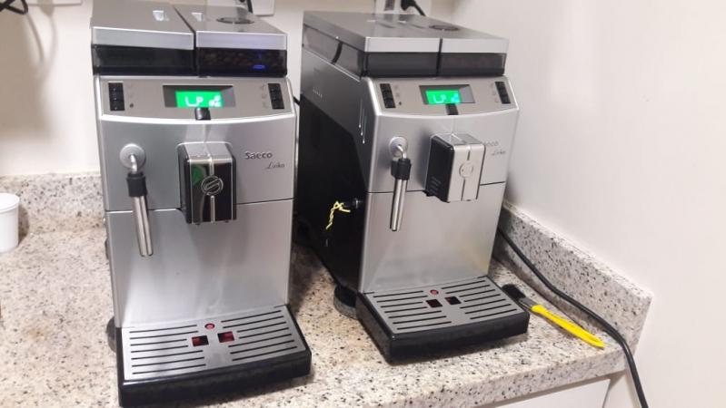 Aluguel de Máquinas de Café com Cappuccino Preço Santo André - Aluguel de Máquina de Café