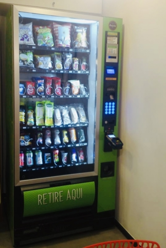 Comprar Máquina de Lanche Saudável para Escola Valor Ipiranga - Comprar Máquina de Alimentos Saudáveis