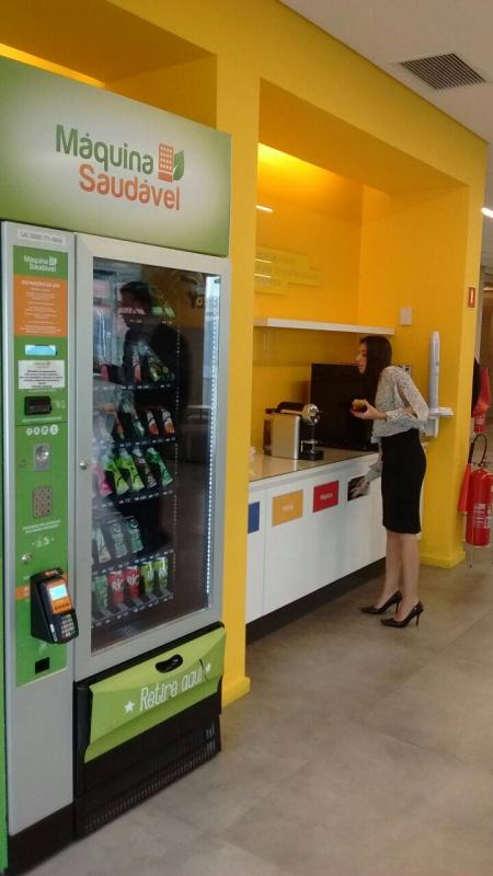 Máquina Fast Food de Alimentos Saudáveis Santo Amaro - Fast Food de Comida Saudável