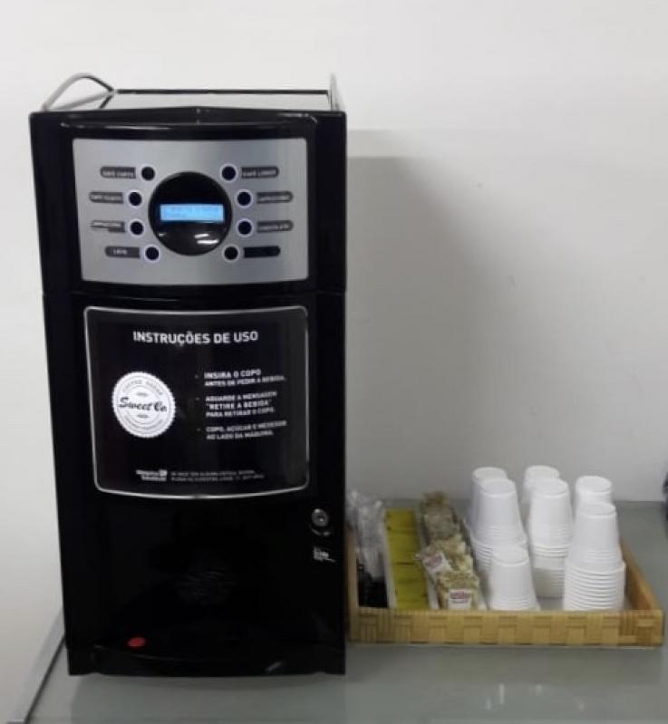 Onde Encontro Máquinas de Café Solúvel para Hotel Berrini - Máquinas de Café Solúvel para Eventos Corporativos