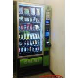 aluguel de máquina de snack saudável valor Paulista