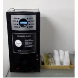 aluguel de máquinas de café com cappuccino e chocolate
