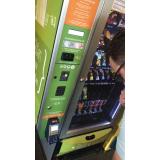aluguel de máquina de snack saudável