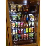 empresa de máquina de alimentos saudáveis Campo Grande