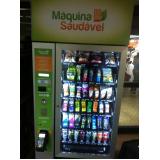 empresa de máquina fast food de alimentação saudavel Jardim Marajoara
