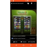 empresa de máquina fast food de alimentos saudáveis Santo André