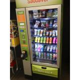 empresa de máquina fast food de snack saudável Água Funda
