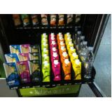 máquina fast food de lanches saudáveis