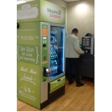 locação de máquina de alimentos saudáveis Morumbi