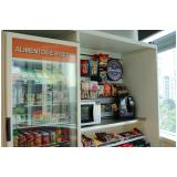 locação de máquina de venda automática snacks Jaguaré