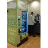 locação de máquina de alimentos saudáveis