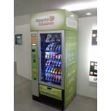 locação de vending machine comida saudável Santo Amaro