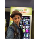 locação de vending machine de comida saudável Grajau