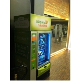 locação de vending machine para academias Sacomã