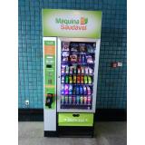locação de vending machine produtos saudáveis Moema