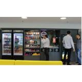 máquina café vending machine valores Parque Fazendinha