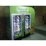 máquina de alimentos saudáveis preço Ibirapuera