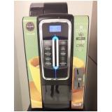 máquina de café solúvel em comodato Vila Mariana