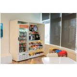 máquina de comida rápida valores Água Branca