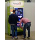 máquina de lanche saudável para escola Jardim Paulistano