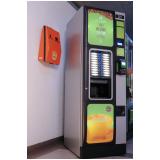 máquina de snacks e refrigerante Caiubi