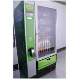 máquina de snacks para alugar Parque Peruche
