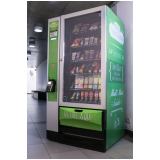 máquina de snacks preço Jardim Pacaembu