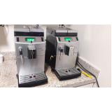 máquina de café grão