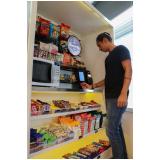 máquina comida saudável automática