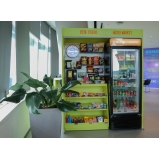 máquina de comprar comida