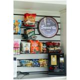 máquina de café snacks