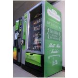 máquina de snacks