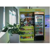 máquinas de snacks para alugar Bixiga