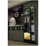 mini loja de conveniência de comida