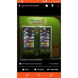 orçamento de máquina fast food de snack saudável Grajau