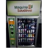 quanto custa locação de máquina saudável de comida orgânica Água Funda