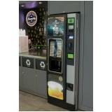 quanto custa máquina café vending machine Vila San Martin