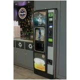 quanto custa vending machine salgados Pirambóia