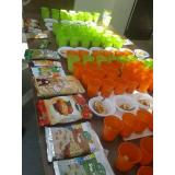 serviço de fast food alimentação saudável Cerqueira César