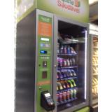 vending machine comida saudável Campo Belo