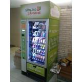 vending machine de comida saudável Alphaville