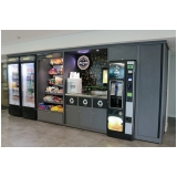 vending machine saudável automática alugar Água Branca