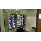 vending machine saudável locação Sacomã