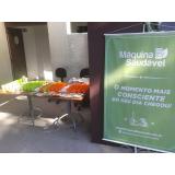 vending machine de alimentos saudáveis